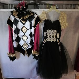 Harlequin Doll Costumes